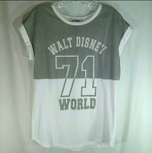 Disney Tops - Disney parks jersey style t shirt. Size medium